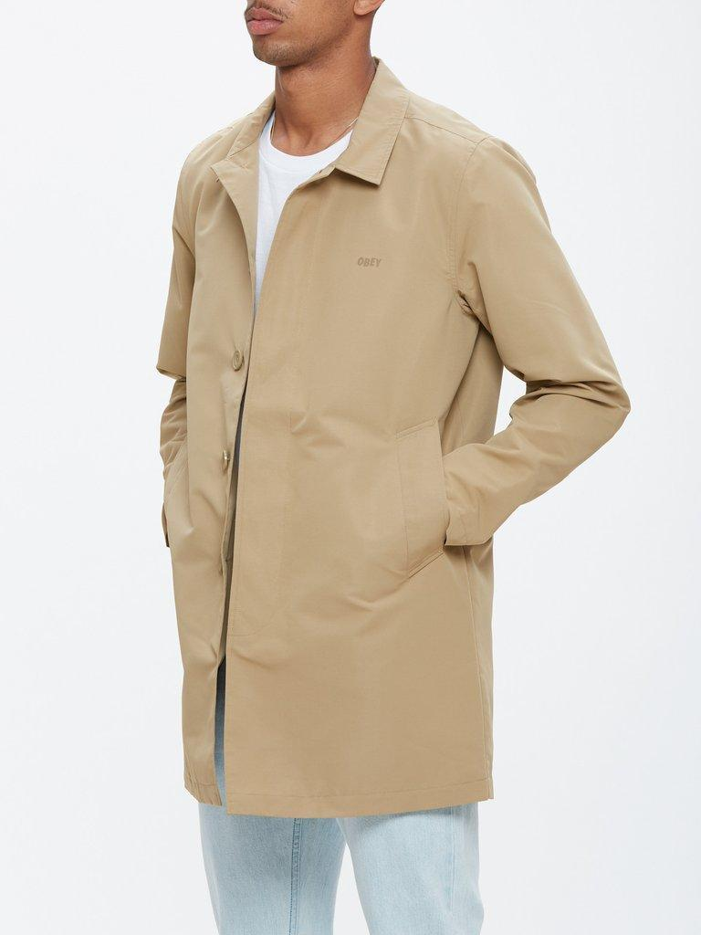 OBEY Nightlines Trench Coat