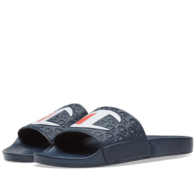 Champion Slides Multi Lido Navy S20690