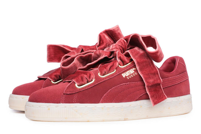 Puma Suede Heart Celebrate Sneakers Red Dhalia