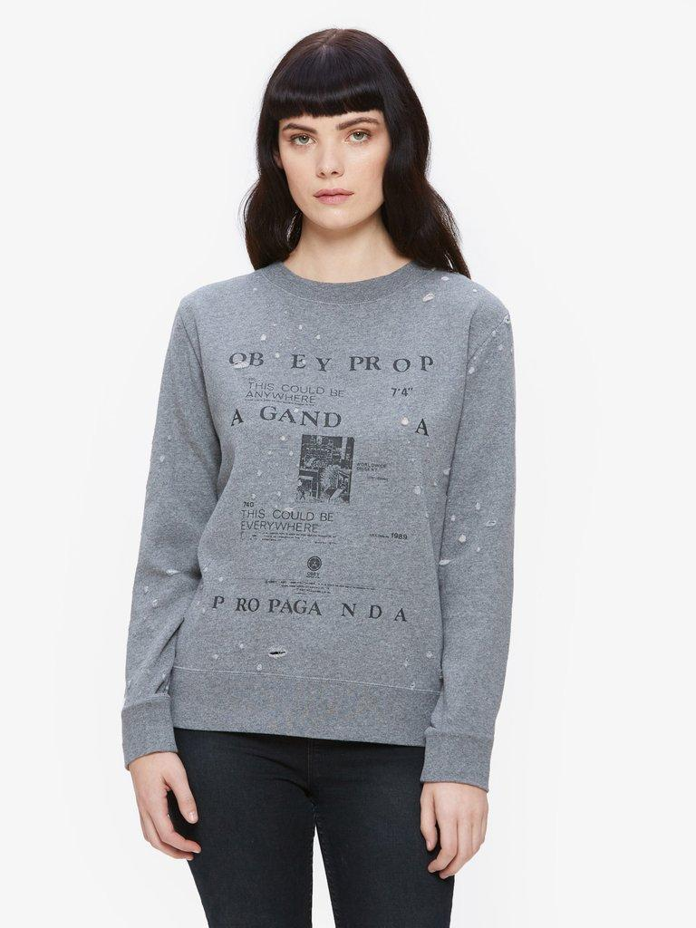 OBEY Be Anywhere Crew Neck