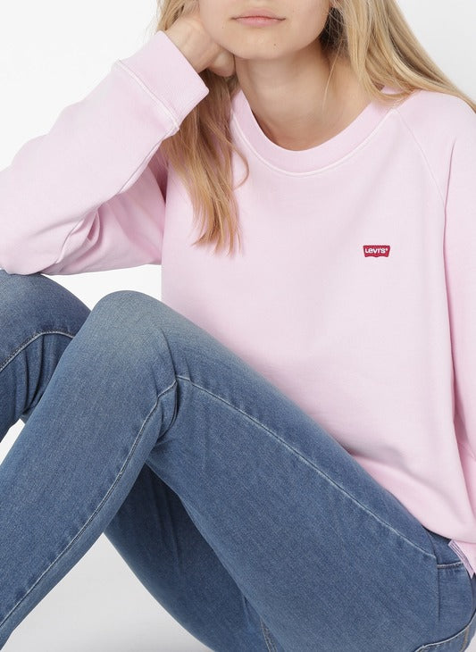 Levi's® Relaxed Graphic Crew Pink