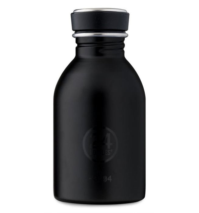 24Bottles Urban Bottle Tuxedo Black 250 ml