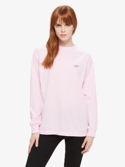 OBEY Tough Love Longsleeve Tee Pink