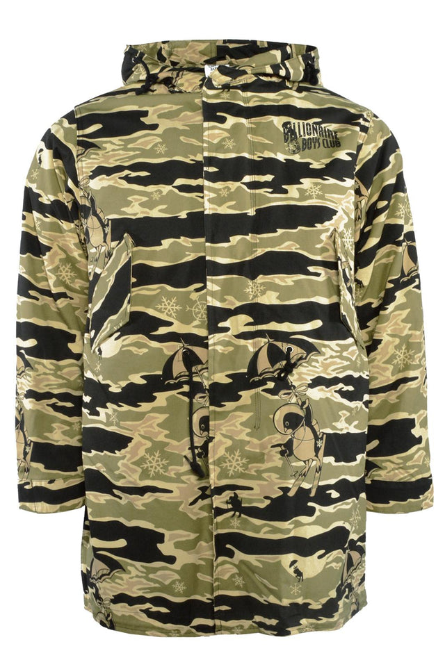 Billionaire Boys Club Space Park Fishtail Parka Camo
