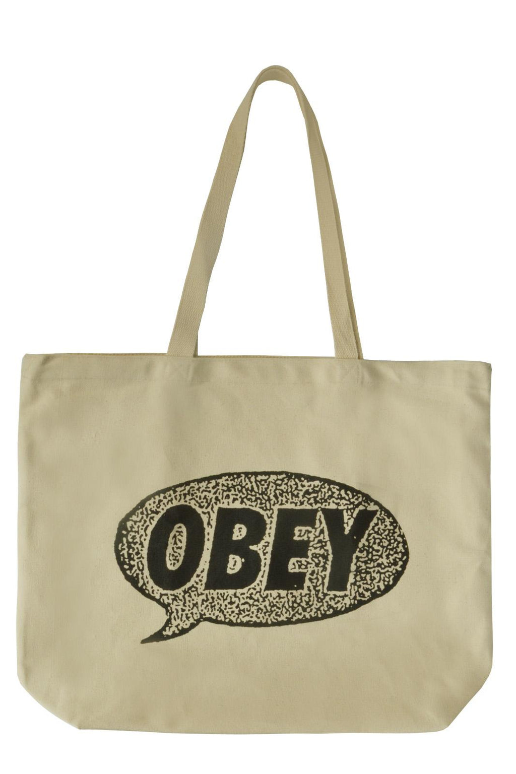 OBEY Tote Small Talk Natural