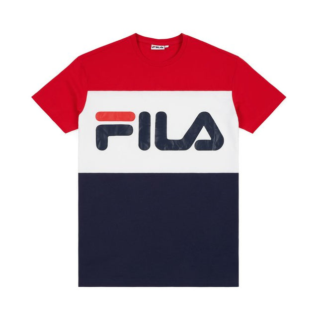 Fila Men's Day T-shirt True Red-Black-Bright White