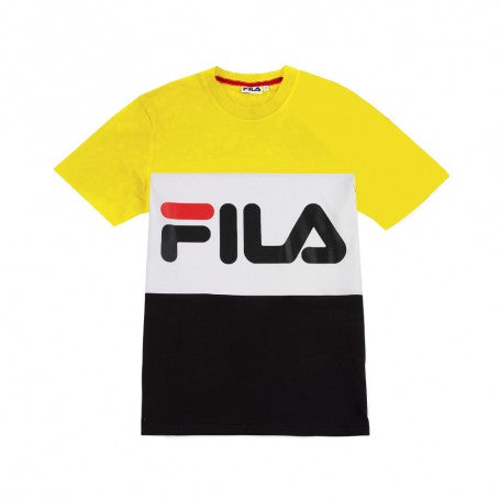 Fila Men's Day T-shirt Citrus Bright White