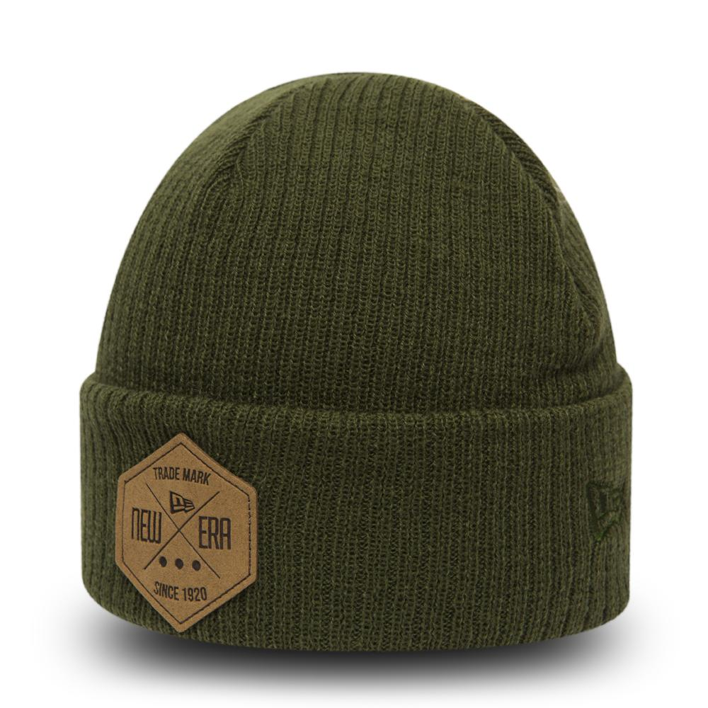 New Era Fisherman Beanie Hex Green