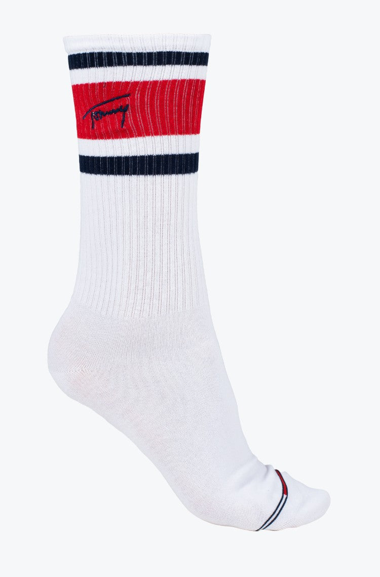 Tommy Jeans Uni Nerd Socks White