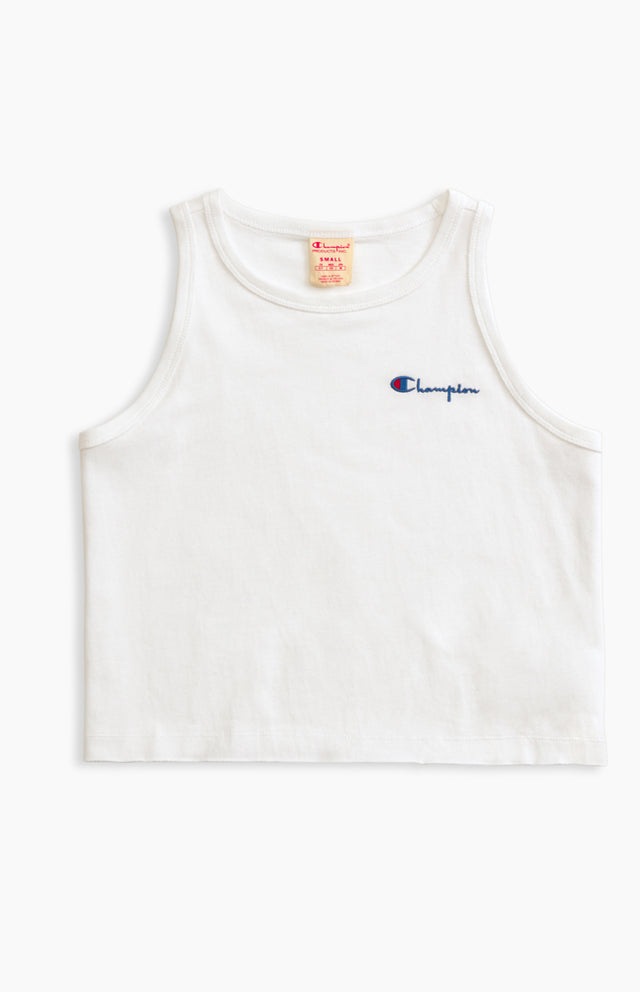 Champion Reverse Weave Loose-Fit Tank White