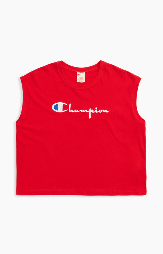 Champion Reverse Weave Maxi T-Shirt Red