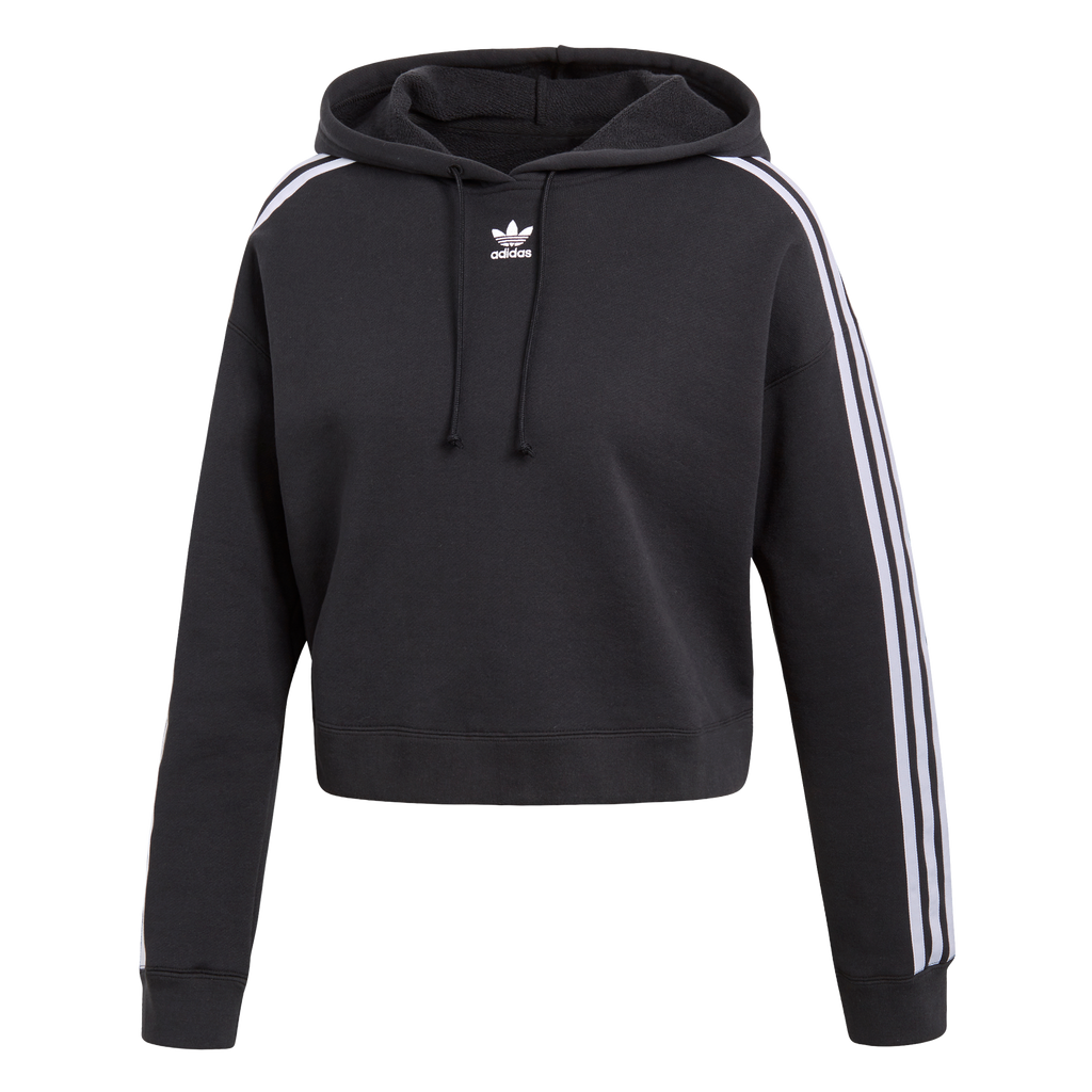 adidas Originals Coeeze Cropped Hoodie Black CY4766