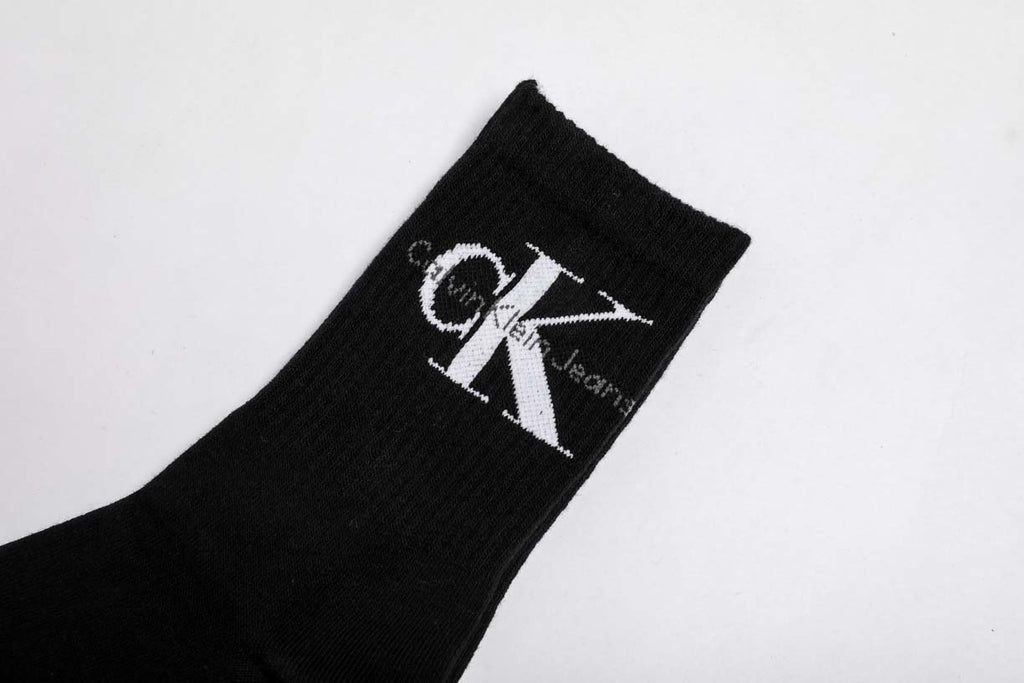 Calvin Klein Jeans Cotton Crew Black Socks
