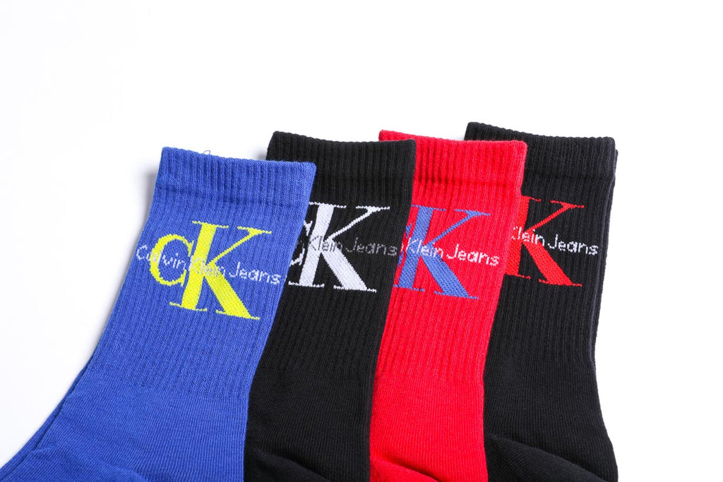 Calvin Klein Jeans Logo Gift Box - 4 Pack - Multicolor