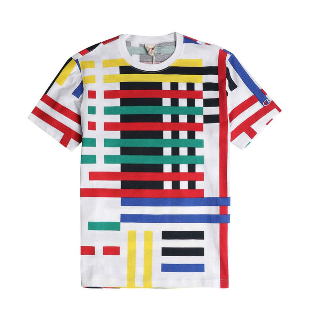Champion Reverse Weave Graphic Stripe Tee 213071