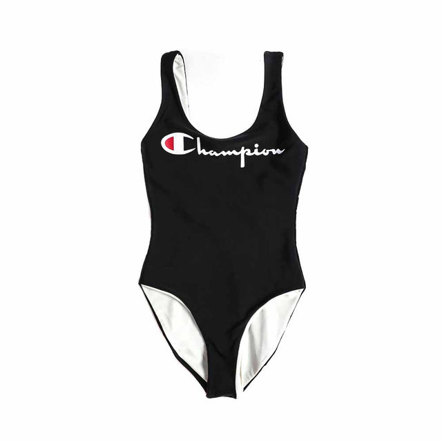Champion Reversible Black Swimsuit 111602