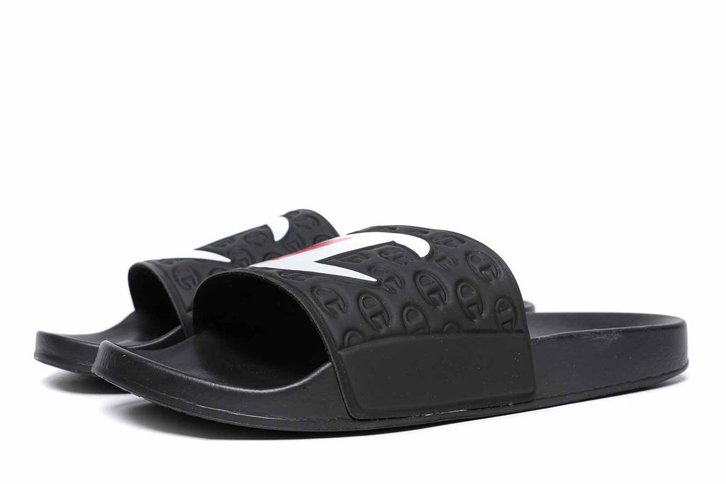 Champion Slides Multi Lido Black S20690