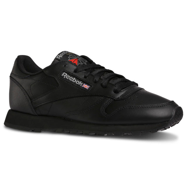 Reebok Classic Leather Black Sneakers