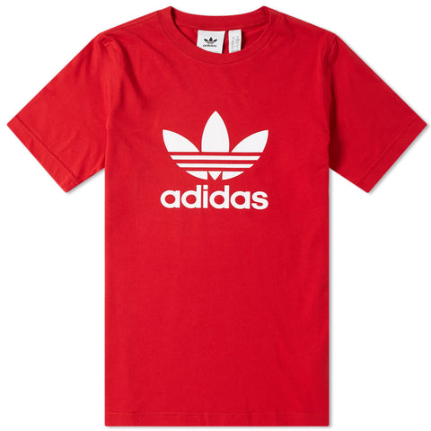 adidas Originals Trefoil Power Red Tee