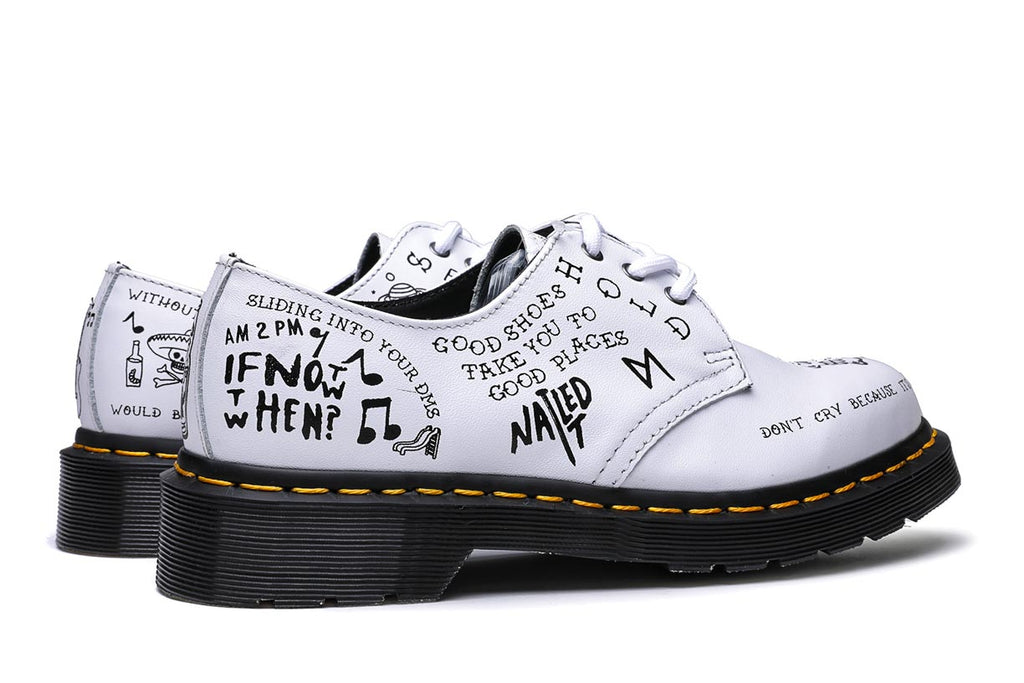 Dr. Martens 1461 3I Scribble White Backhand Shoes DM25246101