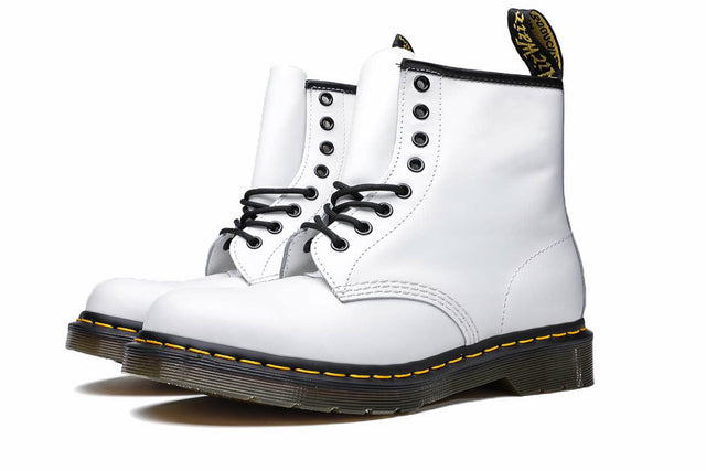 Dr. Martens 1460 8I White Smooth  Boots DM11822100