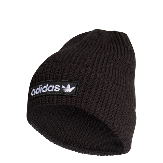adidas Originals Rib Logo Beanie Black