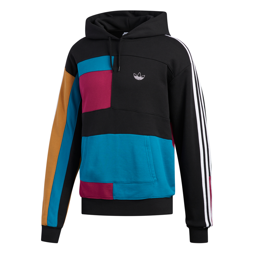 adidas Originals Asymmetrical Hoodie Black ED5608