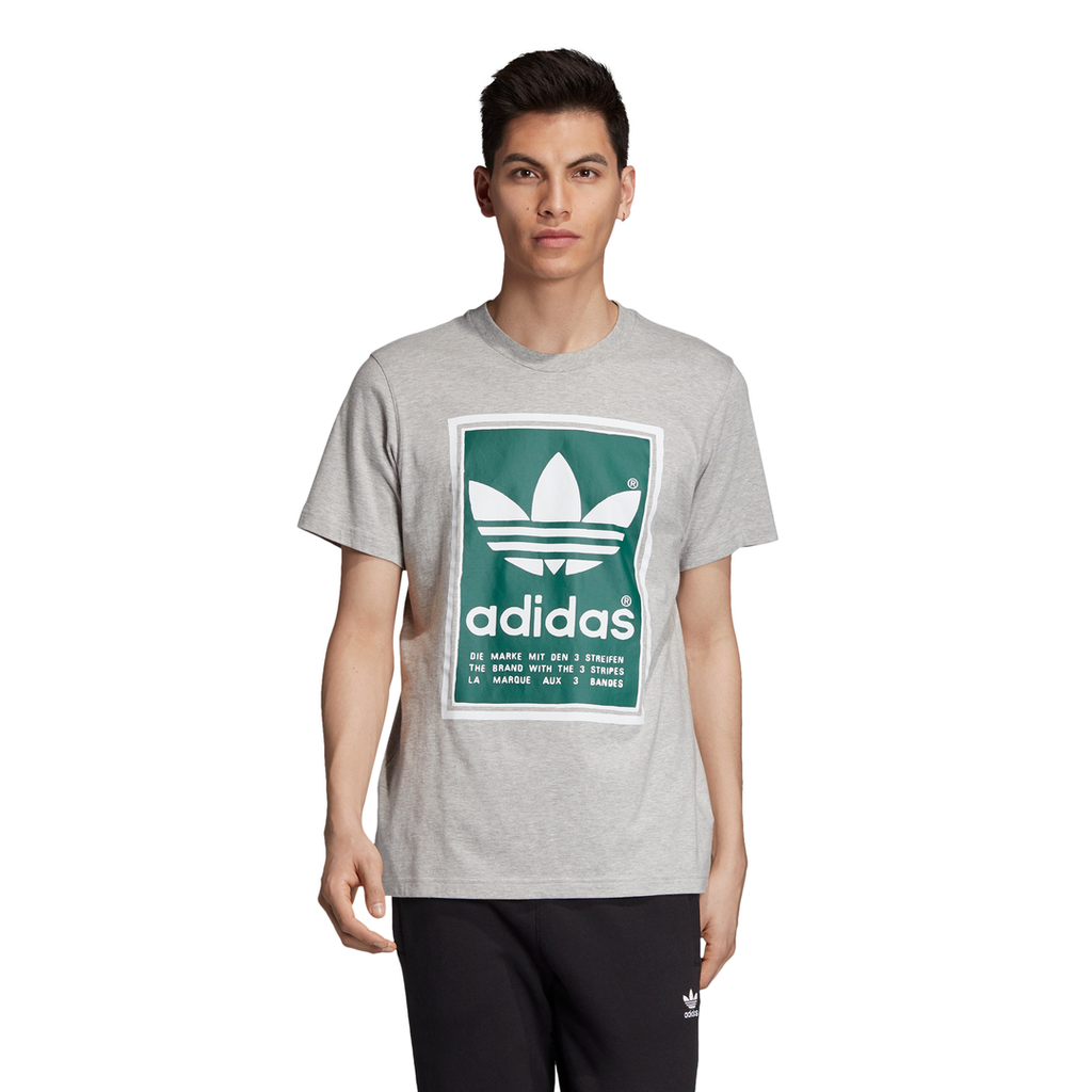 adidas Originals Filled Label T-shirt Grey