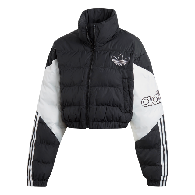adidas Originals Cropped Puffer Jacket Black ED7598