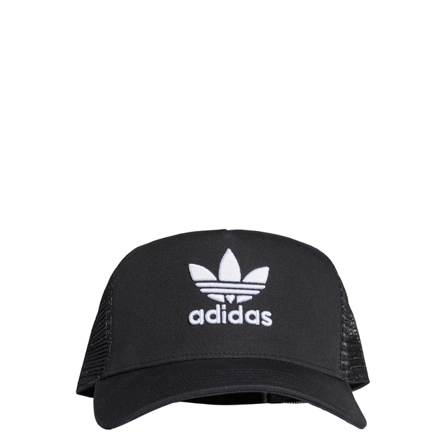 adidas Originals Black Trefoil Trucker Cap