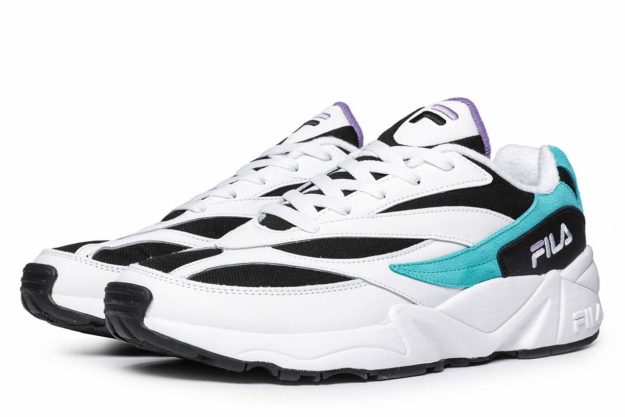 Fila Sneakers Venom V94M Low Black / Blue Curacao / Violet ...
