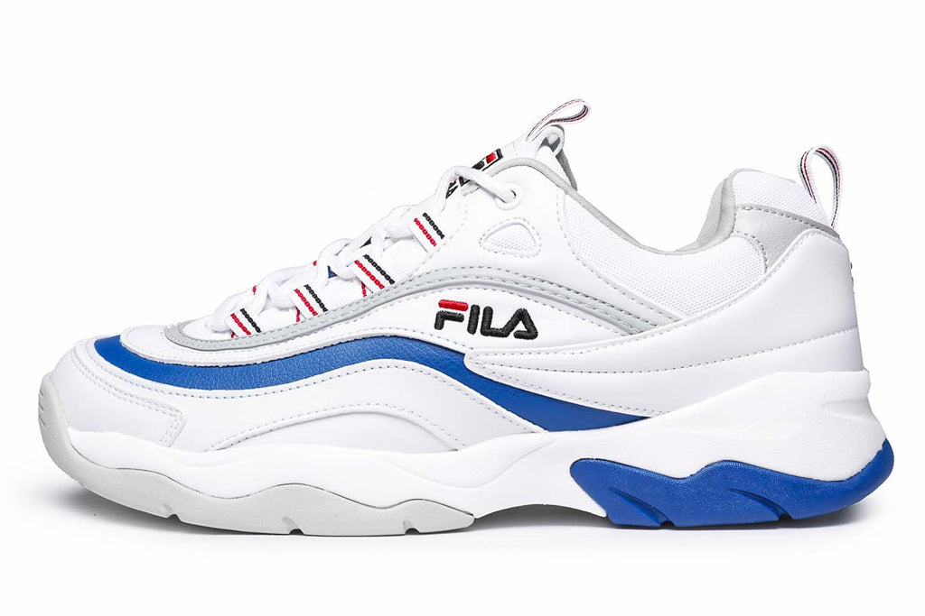 Fila Sneakers Ray F Low White / Electric Blue / Gray Violet 1010578