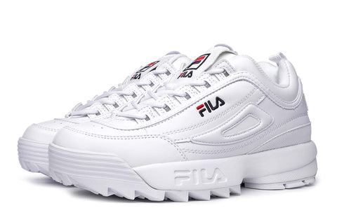 Fila Disruptor Low White Sneakers 1010262-1FG