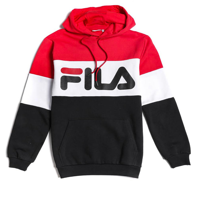 Fila Night Blocked Hoodie True Red
