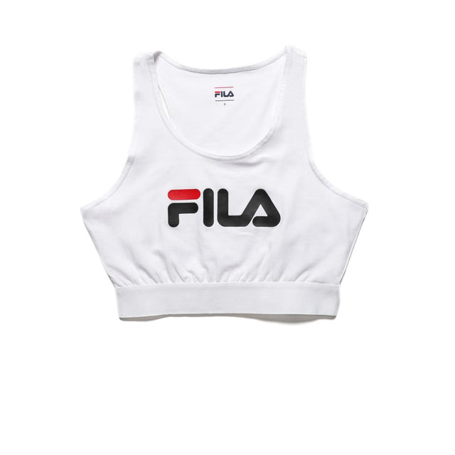 Fila Women's Josette Crop Top Bright White