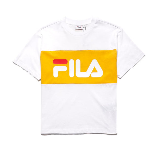Fila Women's Allison T-shirt Bright White Citrus
