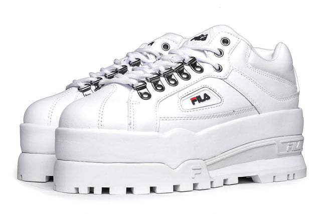 Fila Trailblazer Wedge Sneakers White