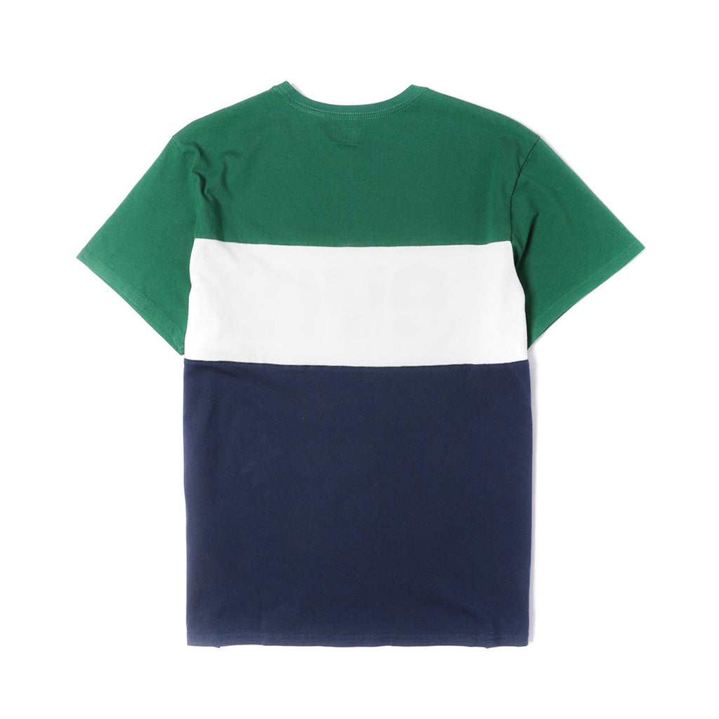 Levi´s® Colorblock Tee Navy/ Green /White