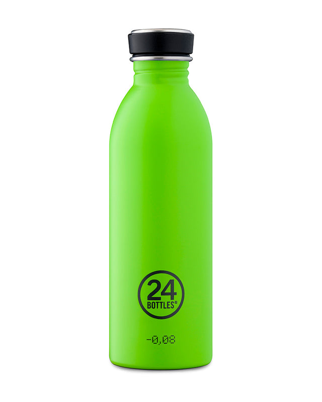 24Bottles Urban Bottle Lime Green 500 ml