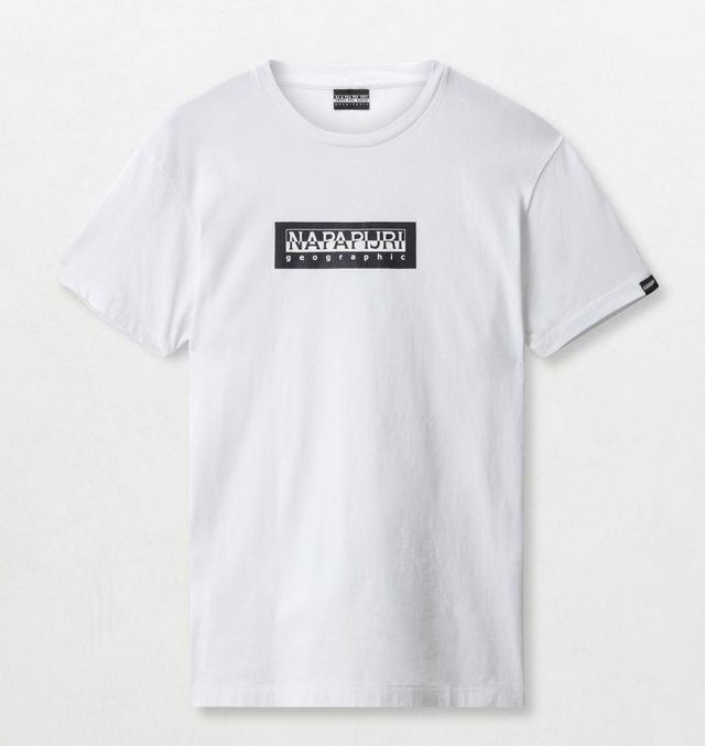 Napapijri Tribe Sox T-shirt Bright White