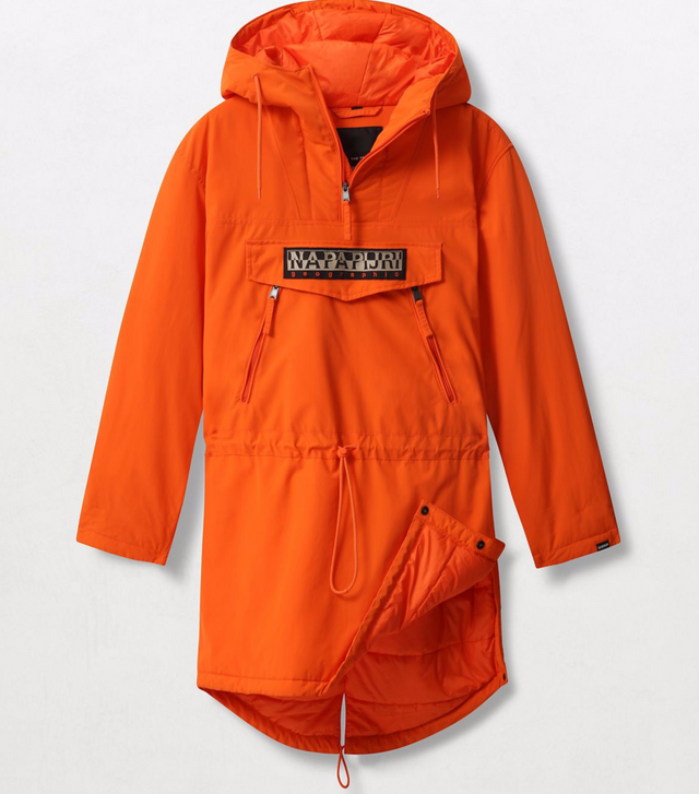 Napapijri Tribe Rainforest Long Jacket Orange
