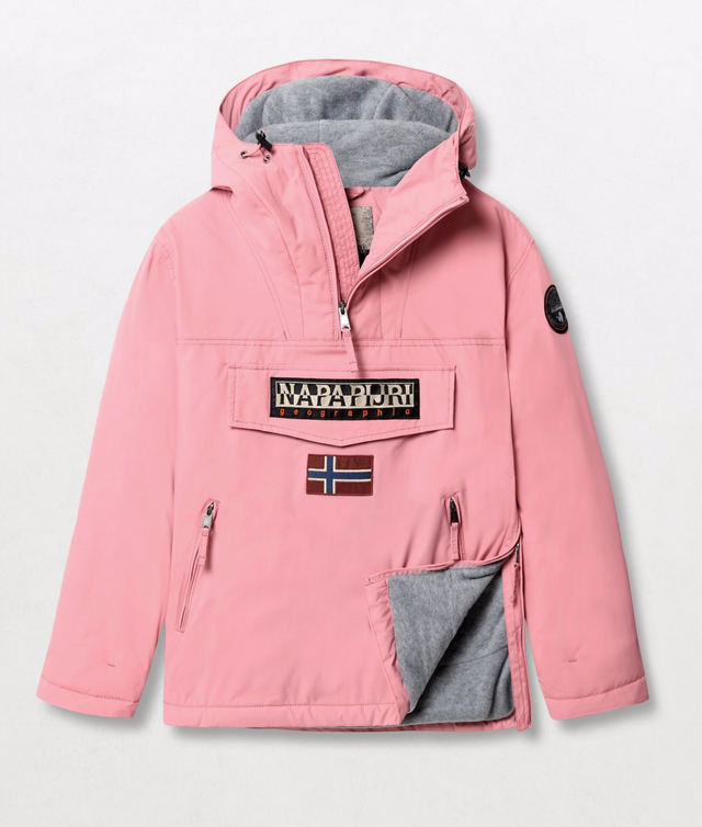 Napapijri Tribe Rainforest Pocket Jacket Pink Blush