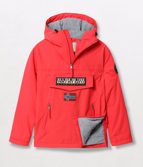 Napapijri Tribe Rainforest Pocket Jacket High Risk Red