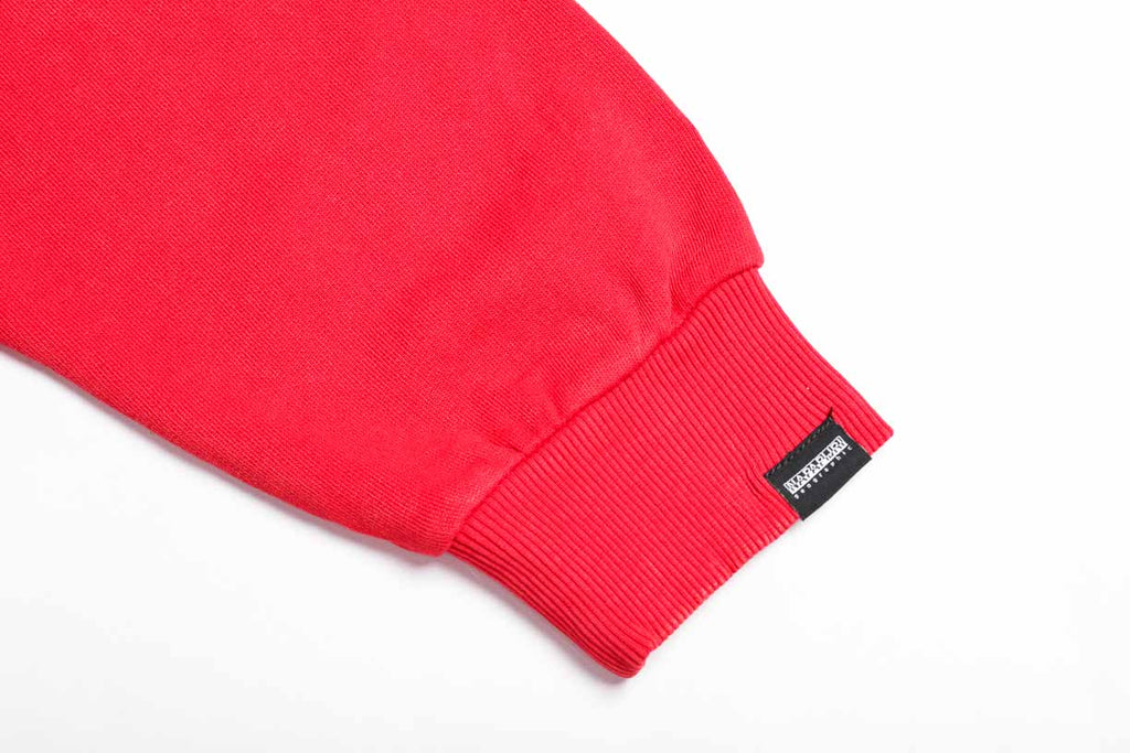 Napapijri Tribe Sweatshirt Boa Red