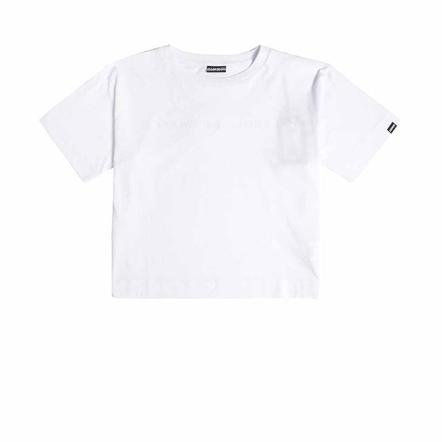 Napapijri Tribe Cropped  Short sleeve t-shirt Sait White