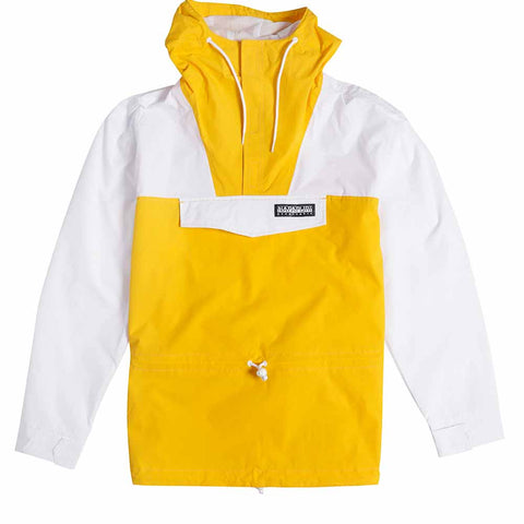 Napapijri Tribe Rainforest Cropped Jacket Fusion Yellow