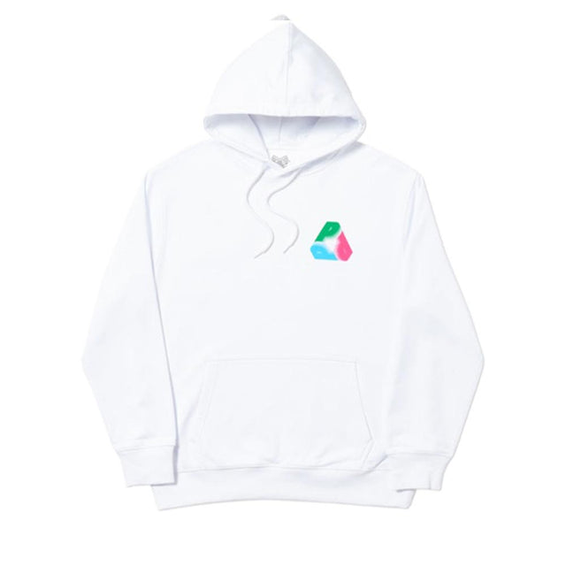 Palace Fat Pee Hood White