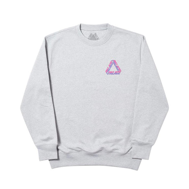 Palace Split P3 Crew Grey