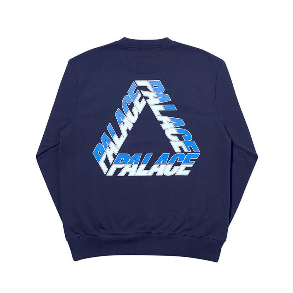 Palace Split P3 Crew Navy