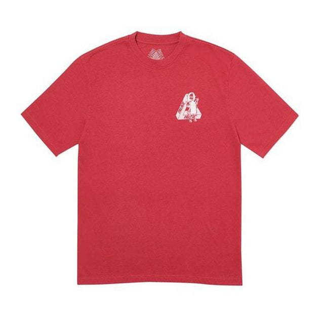 Palace U Figure T-Shirt Dark Red